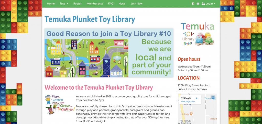 Temuka Public Website