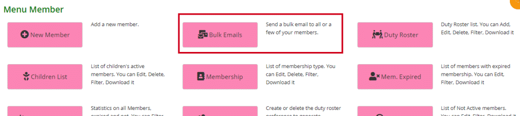 Where to find Bulk Emails
