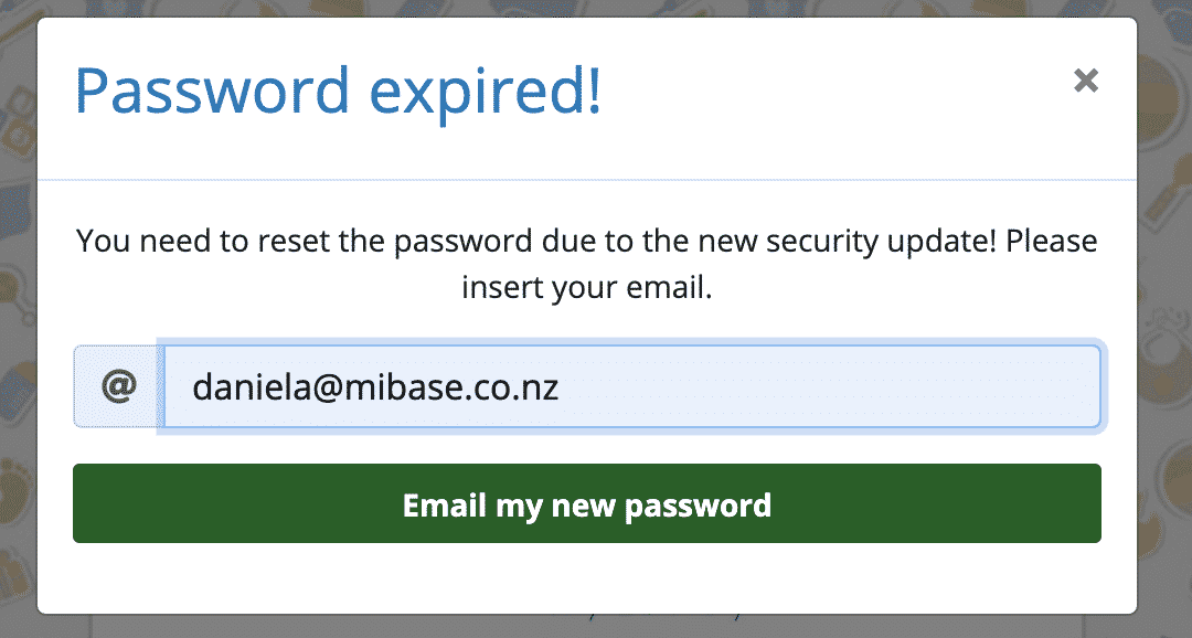 Insert email